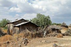 Villaggio in Africa Fotografie Stock Libere da Diritti