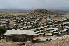 Villaggio in Africa Fotografia Stock Libera da Diritti