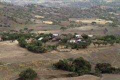 Villaggio in Africa Fotografie Stock