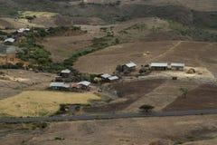 Villaggio in Africa Fotografia Stock