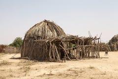Villaggio africano Fotografia Stock