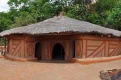 Villaggio africano tradizionale, Sudafrica Fotografia Stock