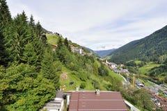 Villaggio alpino Immagini Stock Libere da Diritti