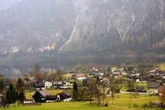 Villaggio alpino di Altaussee in Austria Immagine Stock