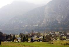 Villaggio alpino di Altaussee in Austria Fotografie Stock