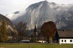 Villaggio alpino di Altaussee in Austria Immagini Stock