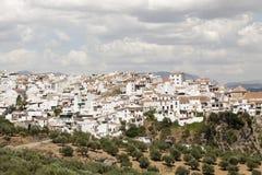 Villaggio andaluso Alora, Spagna Immagini Stock
