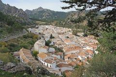 villaggio andaluso di grazalema Fotografia Stock