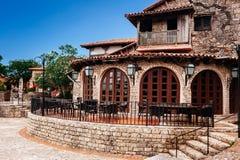 Villaggio antico Altos de Chavon - città coloniale Fotografia Stock