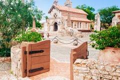 Villaggio antico Altos de Chavon - città coloniale Fotografie Stock Libere da Diritti