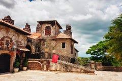 Villaggio antico Altos de Chavon - città coloniale Fotografia Stock Libera da Diritti