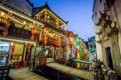 Villaggio antico Cina, WuYuan, Jiangxi, Cina fotografia stock