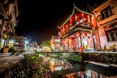 Villaggio antico Cina, WuYuan, Jiangxi, Cina immagine stock