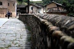 Villaggio antico cinese Immagini Stock