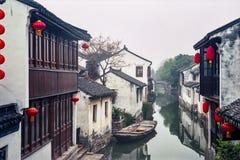 Villaggio antico dell'acqua della Cina Fotografie Stock