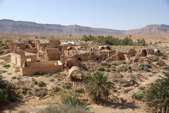 Villaggio antico di berber, Libia Fotografie Stock