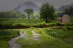 Villaggio antico di Chengkan, provincia di Anhui, Cina Fotografia Stock Libera da Diritti