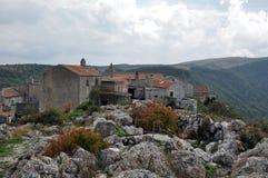 Villaggio antico di croation Immagine Stock Libera da Diritti