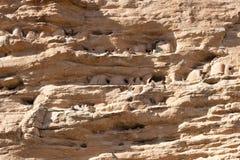 Villaggio antico Tellem, Mali (Africa). Fotografia Stock Libera da Diritti