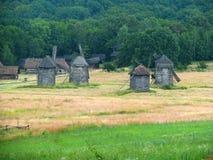 Villaggio antico ucraino Fotografie Stock Libere da Diritti