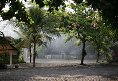 Villaggio asiatico Fotografia Stock