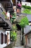 Villaggio Austria di Hallstatt Immagine Stock