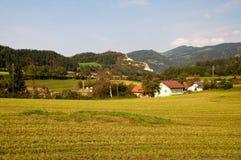 Villaggio austriaco Immagini Stock