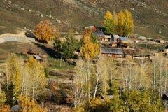 Villaggio Baihaba Immagine Stock Libera da Diritti
