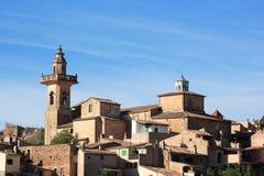 Villaggio Balearic fotografia stock
