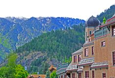 Villaggio bavarese Leavenworth Fotografia Stock