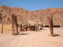 Villaggio beduino Fotografie Stock