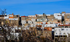 Villaggio bianco andaluso Fotografia Stock Libera da Diritti
