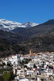 Villaggio bianco, Cadiar, Spagna. Fotografie Stock