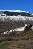 Villaggio bianco, Capileira, Andalusia, Spagna. Fotografie Stock