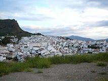 Villaggio bianco di Alora Immagini Stock