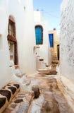 Villaggio bianco Emporio Fotografia Stock Libera da Diritti