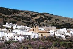 Villaggio bianco, Juviles, Andalusia, Spagna. Fotografia Stock Libera da Diritti