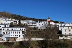 Villaggio bianco, Portugos, Spagna. Fotografie Stock