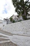 Villaggio bianco in Spagna Fotografie Stock Libere da Diritti