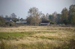 Villaggio bielorusso Fotografia Stock Libera da Diritti