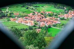 Villaggio Charming Fotografie Stock