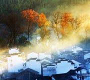 Villaggio cinese Fotografie Stock Libere da Diritti