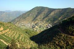 Villaggio cinese Fotografia Stock Libera da Diritti