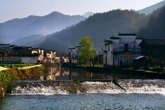 Villaggio cinese Fotografia Stock