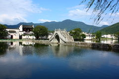Villaggio cinese di Hongcun Immagine Stock Libera da Diritti