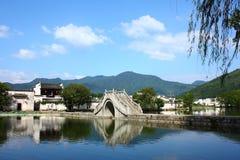 Villaggio cinese di Hongcun Immagini Stock Libere da Diritti