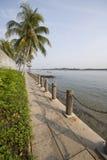 Villaggio coastal7 di Singapore Changi Fotografie Stock