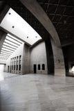 Villaggio culturale di Doha sotto il Amphitheatre Immagine Stock