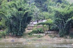 Villaggio dal Madagascar Immagini Stock