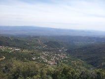 Villaggio dalla cima Fotografia Stock Libera da Diritti
